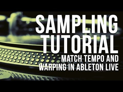 The big sampling tutorial: matching tempo and using warp modes in Ableton Live