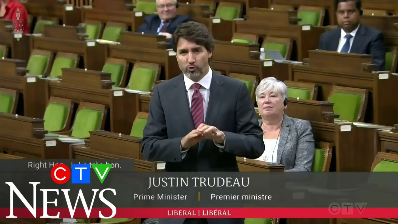 PM Trudeau defends throne speech in HoC