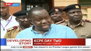 KCPE day two: ministry officials visit exam centers