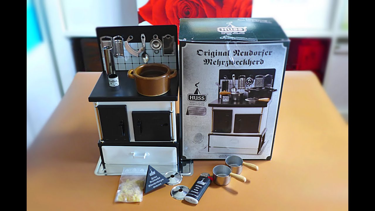 Unboxing miniature huss multipurpose stove youtube for Kitchen set real