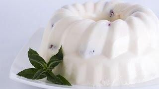 Сметанный торт-желе с клубникой рецепт в домашних условиях(Данный видео рецепт показывает как приготовить Сметанный торт-желе с клубникой в домашних условиях. Рецепт..., 2015-05-31T11:28:19.000Z)