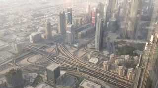 Mi viaje a Dubai (EUA) Burj Khalifa paseo por el mirador AT THE TOP
