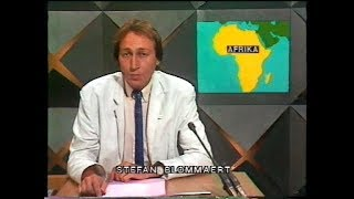 BRT Journaal 8 augustus 1985, met Stefan Blommaert (volledig, met begin- en eindgeneriek)
