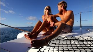 Ep 16. Surfing Secret Waves, Waterfall Jumps & Sailing in Northern Fiji (Sail Surf ROAM)