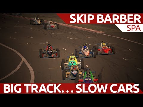 Big track...slow cars...draft draft draft