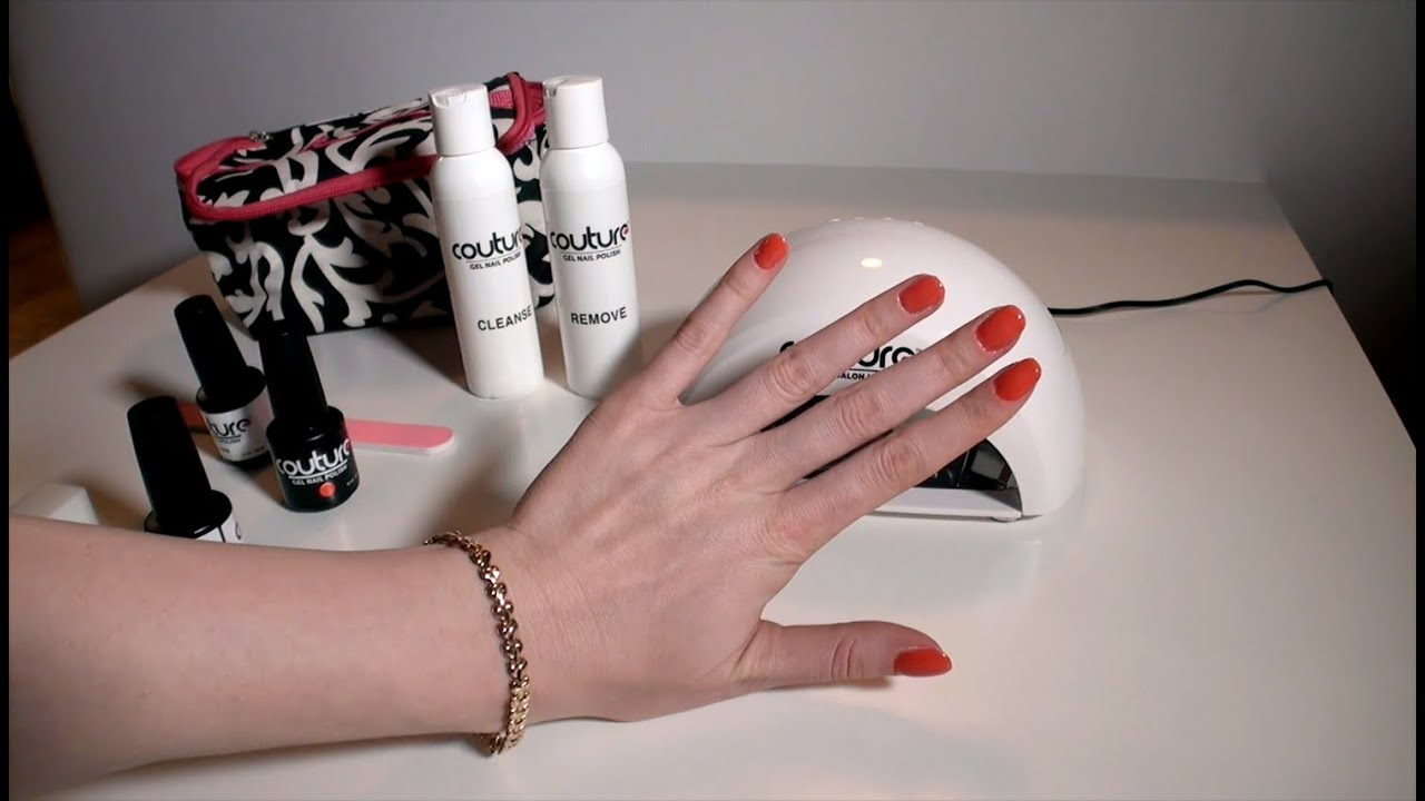 Couture Gel Nail Polish Review: Gel Nail Polish at Home without UV ...