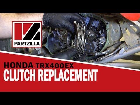 Honda ATV Clutch Replacement - 400EX | Partzilla.com - YouTube on crf250r wiring diagram, cr wiring diagram, crf250x wiring diagram, crf450r wiring diagram, raptor wiring diagram, crf wiring diagram, aquatrax wiring diagram, foreman wiring diagram, trx300 wiring diagram, predator 500 wiring diagram, ltr450 wiring diagram, honda wiring diagram, atv wiring diagram, quad wiring diagram, yamaha wiring diagram, renegade wiring diagram, 300ex wiring diagram, yfz450r wiring diagram, trx250r wiring diagram, 250x wiring diagram,