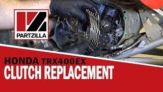 honda atv clutch replacement 400ex   partzilla com