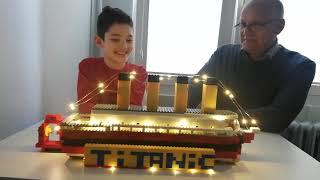Otiv Titanic lego