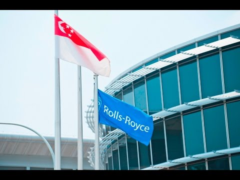 Rolls-Royce in Singapore: the growth of aerospace