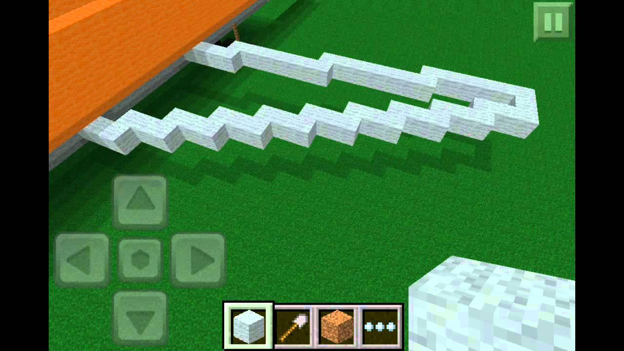 How To Build A Small Airplane In Minecraft Pe