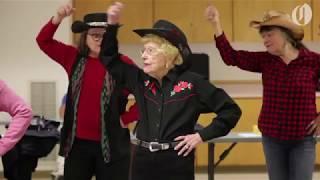 Meet Dottie the 98-year-old line dancer from Beaverton