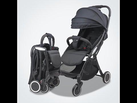 Mamaland Ezy Auto Fold Compact Fold 5.8kg Cabin Size Lightweight Baby Stroller