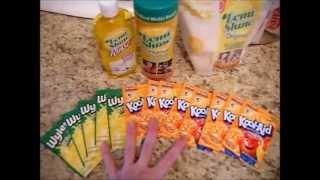 Citrus Dishwasher Detergent