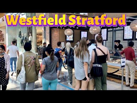 Westfield Stratford  shopping Mall 2020 walking tour | 4k London Walk 2020