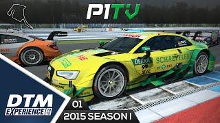 DTM Experience 2015 Pre Season* #01 - Hockenheim | Audi RS5 DTM [TX 599XX]
