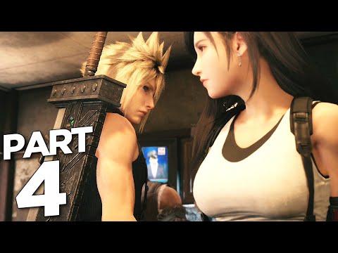 FINAL FANTASY 7 REMAKE Walkthrough Gameplay Part 4 - MATERIA (FF7 REMAKE)