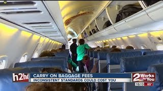 Carry On Baggage Fees