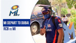 Off to Dubai for RCB vs MI | टीम निकली दुबई | Dream11 IPL 2020