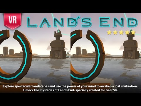 Land's End VR 3D SBS Video gameplay Complete Walkthrough A stunning VR adventure