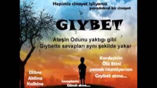 Gıybet,yalan,kötü zan 50  hadis Riyazus Salihin Buhari Müslim İmam Nevevi Hayri Küçükdeniz www giybe
