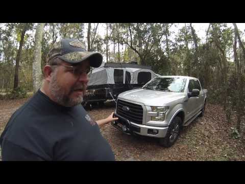"F150 Towing and MPG with Level and 33"" Tires"