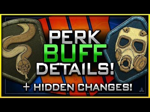 Cold Blooded & Tac Mask Buff Details! (+ Hidden Hardcore Changes)