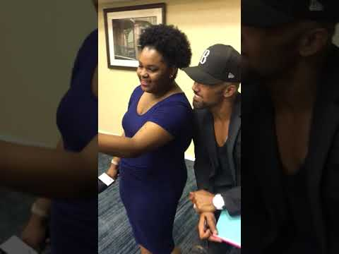 Shemar Moore Facetimes with a Bennett Belle's Mom