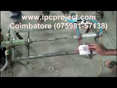 Automatic Pneumatic Reciprocating Water Pumping System