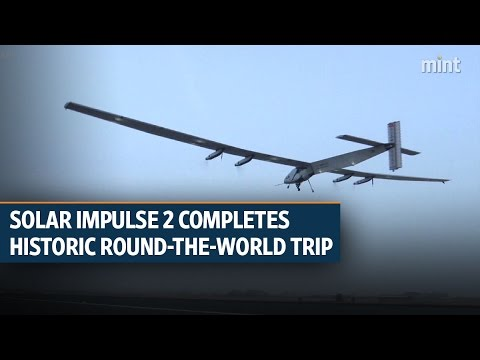 Solar Impulse 2 completes historic round-the-world trip