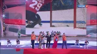 Трус не играет в хоккей. День России на Красной площади 2013