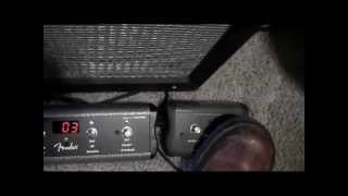 Fender Mustang foot switches