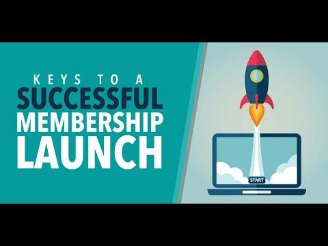 Keys to a Successful Membership Website Launch
