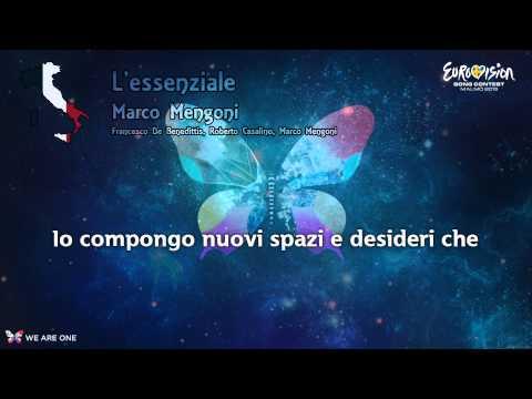 "Marco Mengoni - ""L'essenziale"" (Italy)"