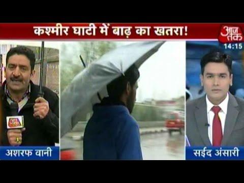 Heavy Rains In Kashmir, Warnings For Landslide Issued