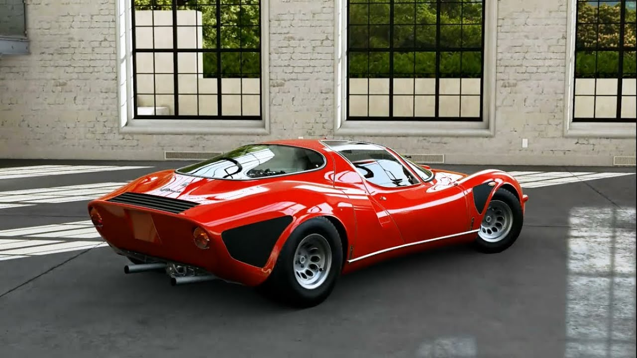 forza motorsport 5 1968 alfa romeo 33 stradale youtube. Black Bedroom Furniture Sets. Home Design Ideas