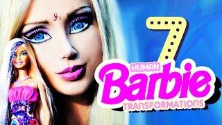 7 Real Human Barbie Dolls