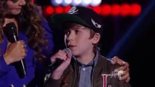 Daniel hace su come back con 'Chains'  | La Voz Kids 2016
