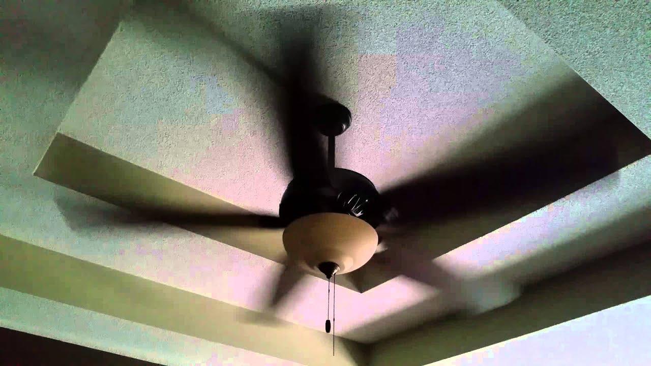 Hunter ceiling fan chopping noise youtube hunter ceiling fan chopping noise aloadofball Gallery