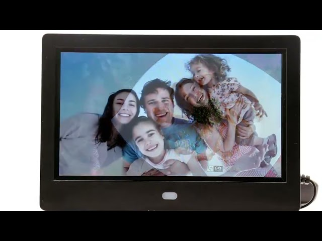 Funtek 7 inch Digital Picture Frame with IPS Screen for Home Gifts