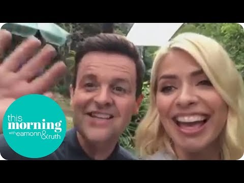 I'm a Celeb: An Exclusive Message from Holly & Dec | This Morning