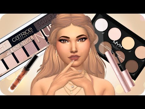 MY MAKEUP COLLECTION (CC) | Sims 4 Custom Content Showcase | 50+ LINKS