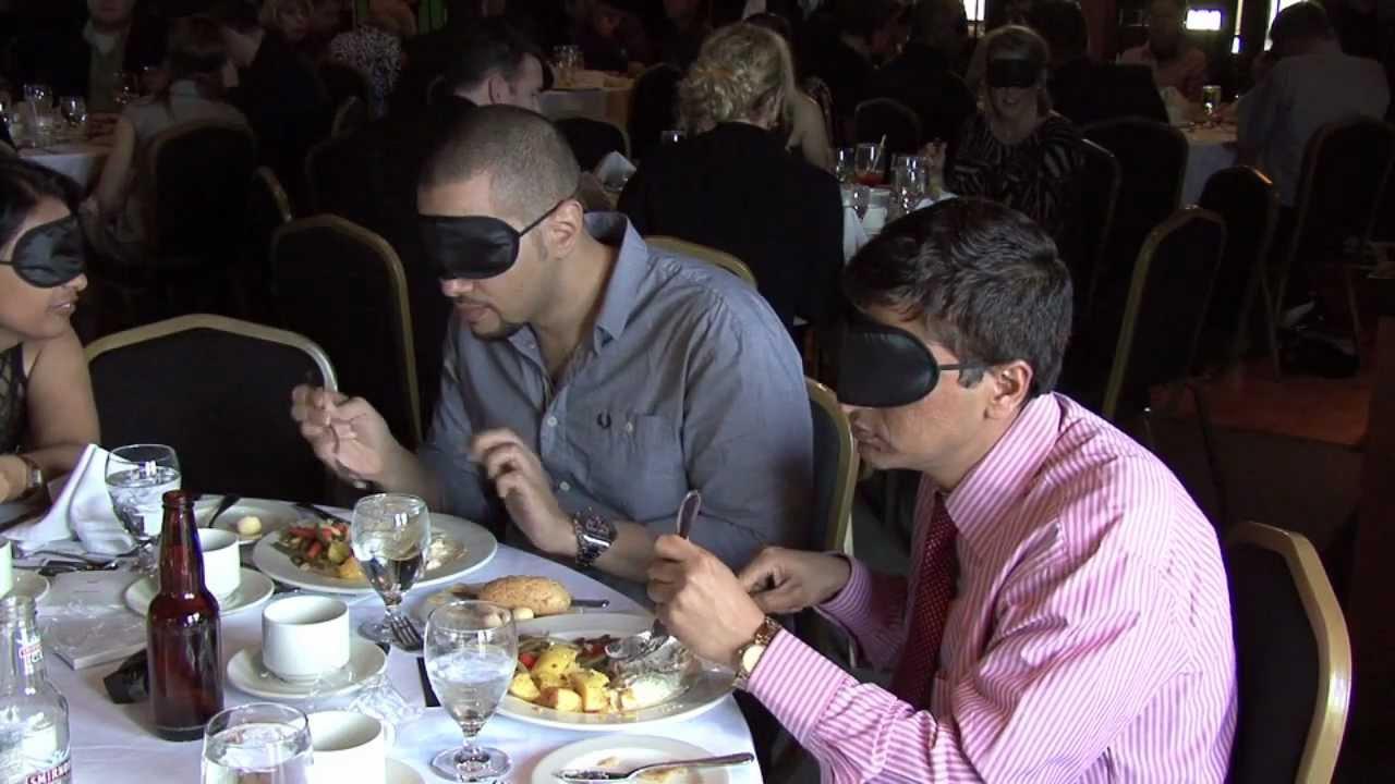 Dining in the Dark - YouTube