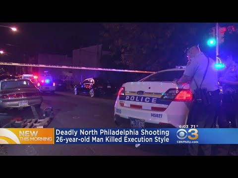 Police: Man Killed Execution Style In North Philadelphia
