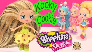 DIY Custom Kooky Cookie SHOPPIES SHOPKINS Doll - How To Craft Do It Yourself Video Cookieswirlc thumbnail