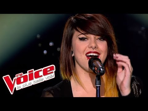 The Voice 2013 | Cécilia Pascal - Poker Face (Lady Gaga) | Blind Audition