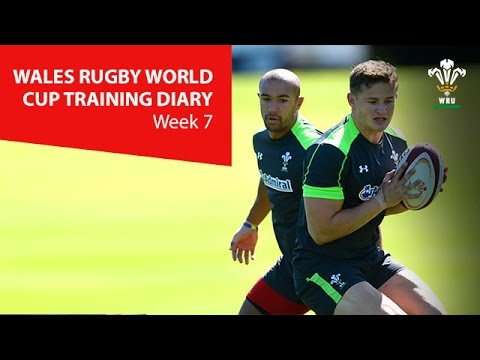 WEEK 7: Wales Rugby World Cup Training Diary | WRU TV
