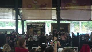 All Time Low - Dear Maria, Count Me In, Warped Tour 2012, Scranton PA