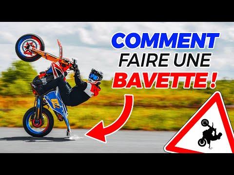 COMMENT FAIRE UNE BAVETTE À MOTO ? (TUTO)