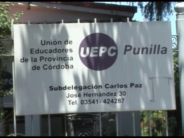 Toma del IPEM 190 Dr. Pedro Carande Carro: la palabra del inspector